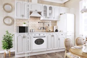 Кухня МДФ Монако прямая - Мебельная фабрика «Вавилон 58»