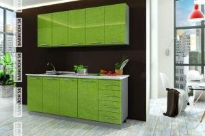 Кухня МДФ Олива 2,0 м - Мебельная фабрика «Вавилон58»