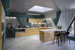 Кухня МДФ Оскар - Мебельная фабрика «Кухонный двор»