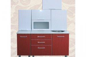 Кухня МДФ прямая - Мебельная фабрика «Александра»
