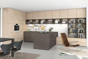 Кухня МДФ с островом - Мебельная фабрика «Агата»