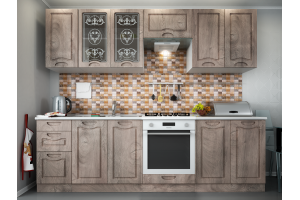 Кухня МДФ Сопрано - Мебельная фабрика «ЛЕКО»