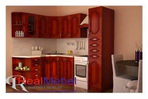 Кухня МДФ угловая - Мебельная фабрика «RealMebel»