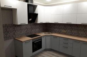 Кухня МДФ в матовой эмали - Мебельная фабрика «SamSam»