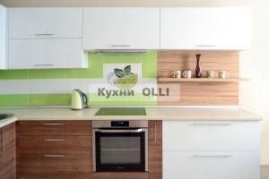 Кухня МДФ в пленке ПВХ - Мебельная фабрика «Кухни OLLI»