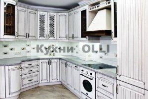 Кухня мдф в пленке пвх с патиной - Мебельная фабрика «Кухни OLLI»