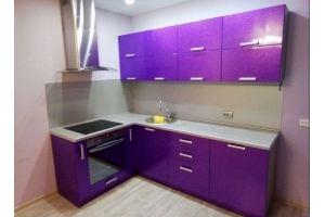 Кухня МДФ в ПВХ Фиона - Мебельная фабрика «Люкс-С»