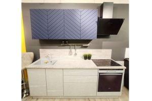 Кухня Меридиана с системой открывания push-to-open - Мебельная фабрика «Эстель»