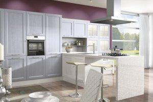 Кухня Милан рамка из массива ясеня - Мебельная фабрика «MipoLine»