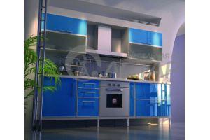 Кухня Милана в алюминиевой рамке - Мебельная фабрика «Астарта»