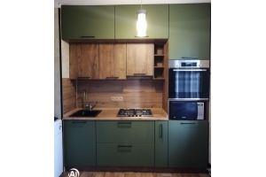 Кухня мини в стиле Лофт - Мебельная фабрика «МЭК»