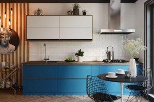 Кухня минимализм Итальянская Ривьера - Мебельная фабрика «Слон»