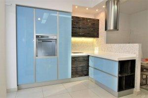 Кухня Модерн Интегра blue - Мебельная фабрика «Оранжевый Кот»