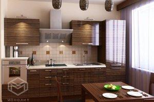 кухня модерн Монталия 102 - Мебельная фабрика «Монолит»