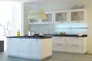 Кухня Moderno Beverly белая - Импортёр мебели «Latini»
