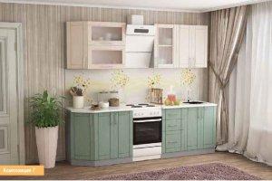 Кухня модульная прямая маленькая  2 - Мебельная фабрика «Первомайское»