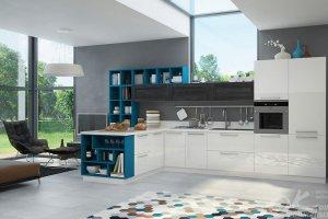 Кухня модульная Тетрис - Мебельная фабрика «Оранжевый Кот»