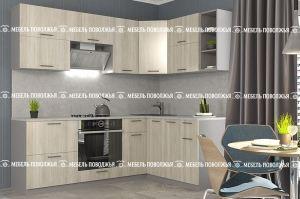 Кухня Мускат с фасадами из ЛДСП - Мебельная фабрика «Мебель Поволжья»