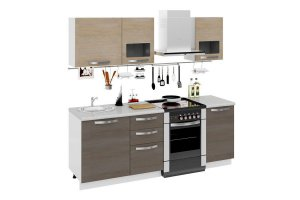 Кухня Ненси 3 МДФ - Мебельная фабрика «Фиеста-мебель»