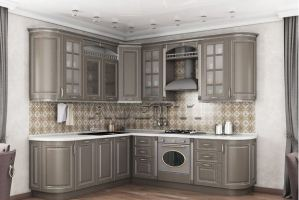 Кухня неоклассика Цюрих - Мебельная фабрика «Avetti»
