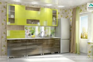 Кухня Ника-1 фасад Мыло - Мебельная фабрика «МАРИБЕЛЬ»