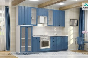 Кухня Ника-1 фасад Валенсия - Мебельная фабрика «МАРИБЕЛЬ»