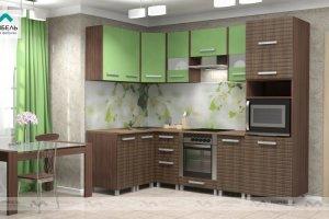Кухня Ника-1 фасад Вива - Мебельная фабрика «МАРИБЕЛЬ»