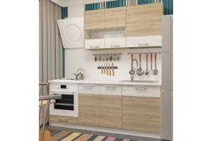 Кухня прямая Николь 2 - Мебельная фабрика «Пирамида»