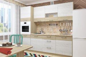 Кухня прямая Николь 3 - Мебельная фабрика «Пирамида»