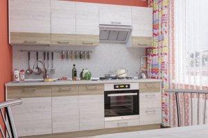 Кухня прямая Николь 6 - Мебельная фабрика «Пирамида»