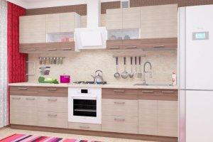 Кухня прямая Николь 7 - Мебельная фабрика «Пирамида»