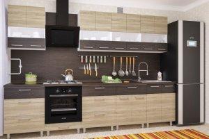 Кухня прямая Николь 8 - Мебельная фабрика «Пирамида»
