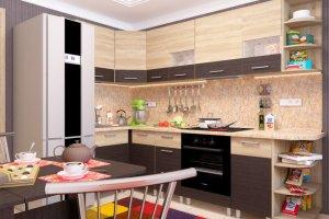 Кухня угловая Николь 9 - Мебельная фабрика «Пирамида»