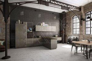 Кухня Ноа лофт - Мебельная фабрика «Кухонный двор»
