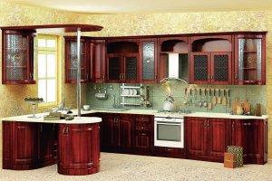 Кухня Нова 4 - Мебельная фабрика «Кубань-мебель»