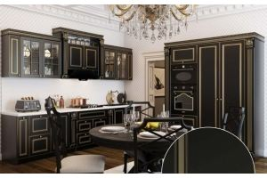 Кухня темная Одиллия - Мебельная фабрика «Ренессанс»