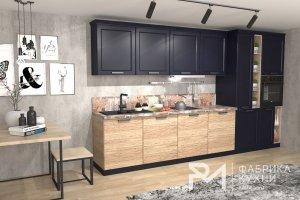 Кухня Океания Рустик Натур 3600 - Мебельная фабрика «Ревдамебель»