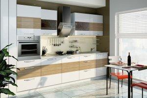 Кухня Оливия 4 МДФ - Мебельная фабрика «Фиеста-мебель»