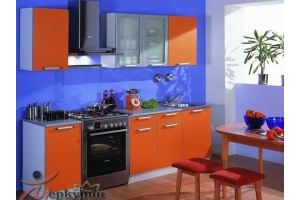 Кухня оранжевая Карен - Мебельная фабрика «Меркурий»