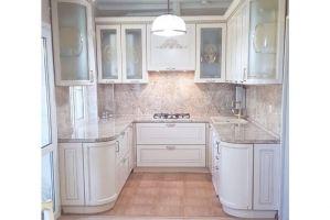 Кухня п-образная Дива - Мебельная фабрика «Виктория»