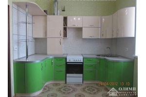 Кухня п-образная Екатерина 10 - Мебельная фабрика «ОЛИМП»