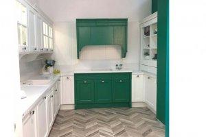 Кухня п-образная с порталом - Мебельная фабрика «ЮЛИС»