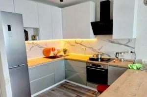 Кухня п-образная Сфера - Мебельная фабрика «Дэрия»