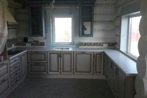 Кухня П-образная светлая - Мебельная фабрика «Командор»