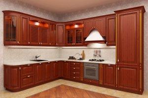 Кухня Палермо с патиной - Мебельная фабрика «Акварель»
