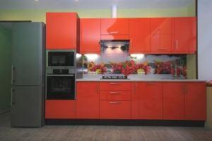 Кухня Паула прямая - Мебельная фабрика «MaxiКухни»