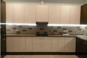 Кухня пластик Alvic - Мебельная фабрика «Киржачская мебельная фабрика»