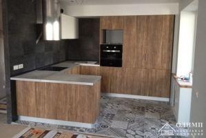 Кухня пластик П-образная Ника - Мебельная фабрика «ОЛИМП»