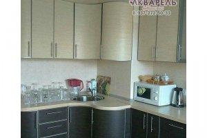 Кухня пластик в алюминиевом профиле - Мебельная фабрика «Акварель»