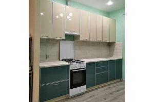 Кухня Пластик в алюминиевом профиле - Мебельная фабрика «Корпус»